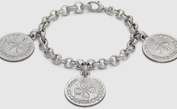 Gucci Bracelet In Silver With