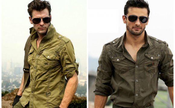 Military-style-shirts-Mens