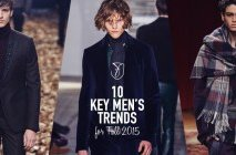 10 key men's trends from the fall 2015 runways