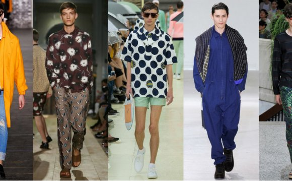 Current Fashion trends Men