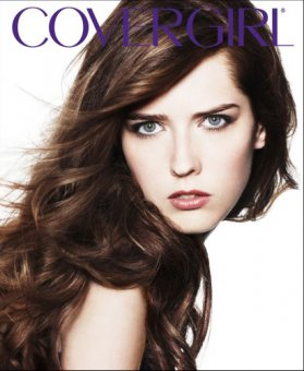 Ann Ward's Cover Girl ad.