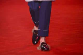Gucci Men's Fashion Week Fall 2016 Shoes