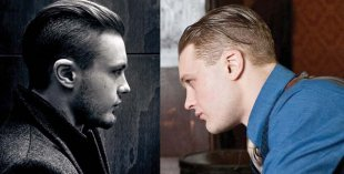 The slicked back undercut hairstyle for men