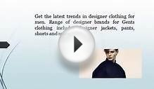 Buy Designer Clothing For Men