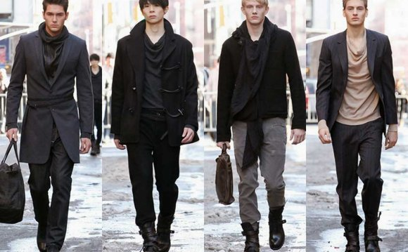 Winter Fashion trends Men